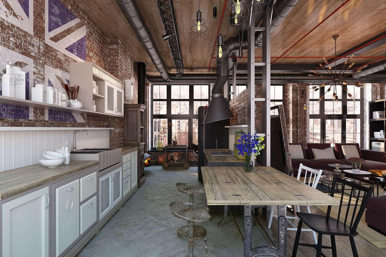 кухня гостиная 18 м2 оформление