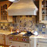 плитка для кухни фото интерьера