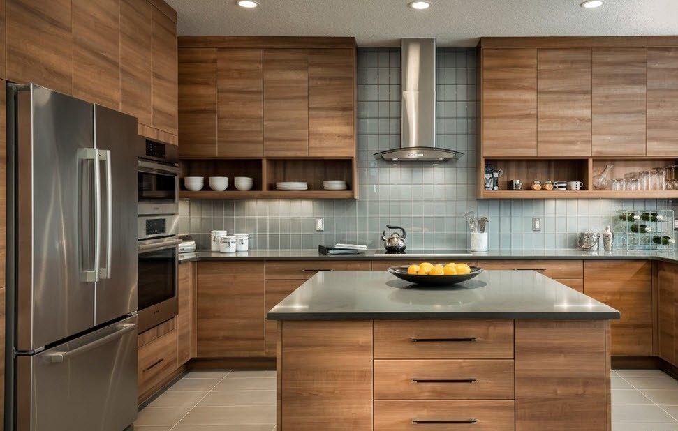 плитка на кухне дизайн
