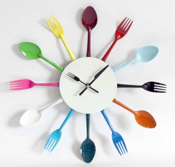 Поделки для кухни своими руками часы