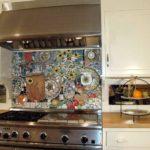 Поделки для кухни своими руками фартук-панно над плитой