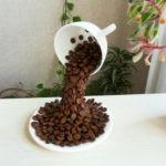 Поделки для кухни своими руками из зерен кофе