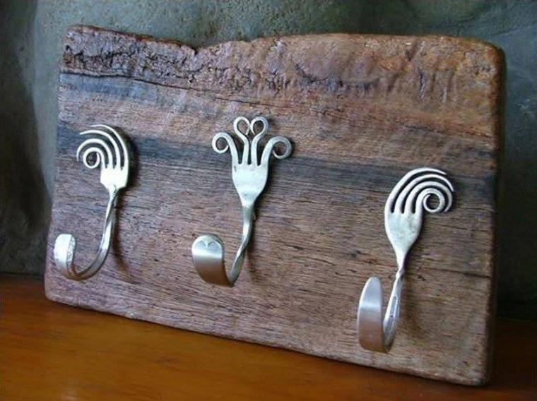 Поделки для кухни своими руками крючки для полотенец