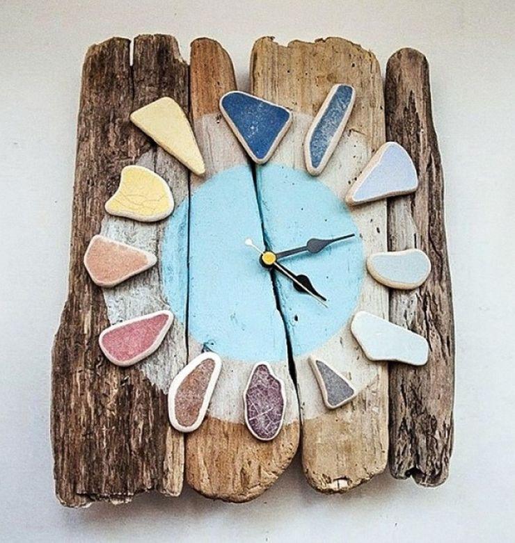 Поделки для кухни своими руками настенные часы