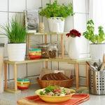 Поделки для кухни своими руками настольная угловая этажерка