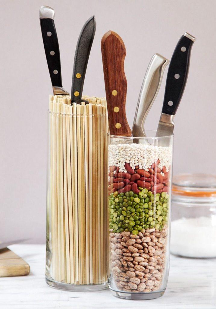Поделки для кухни своими руками подставка для ножей
