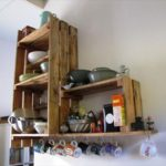 Поделки для кухни своими руками полки из грубой доски