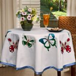 Поделки для кухни своими руками скатерть с вышивкой