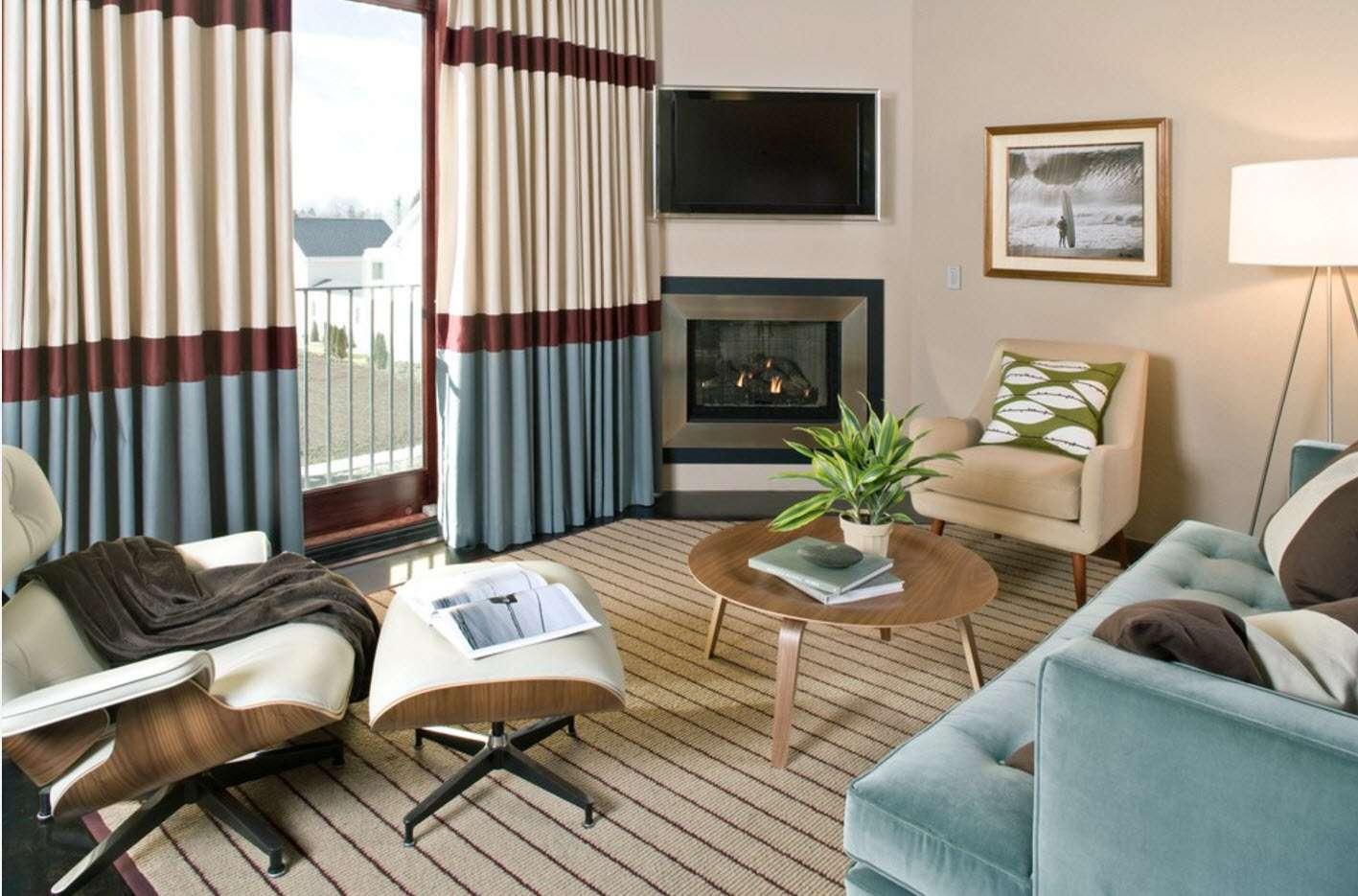 шторы в гостиной идеи дизайн