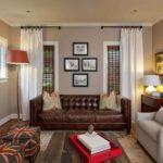 шторы в гостиной идеи оформления