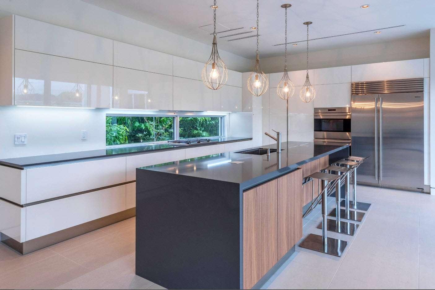 современная кухня минимализм