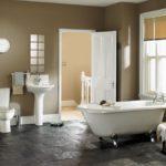 Современный дизайн ванной комнаты минимализм в стиле кантри