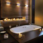 Современный дизайн ванной комнаты отделка под массив дерева.jpg