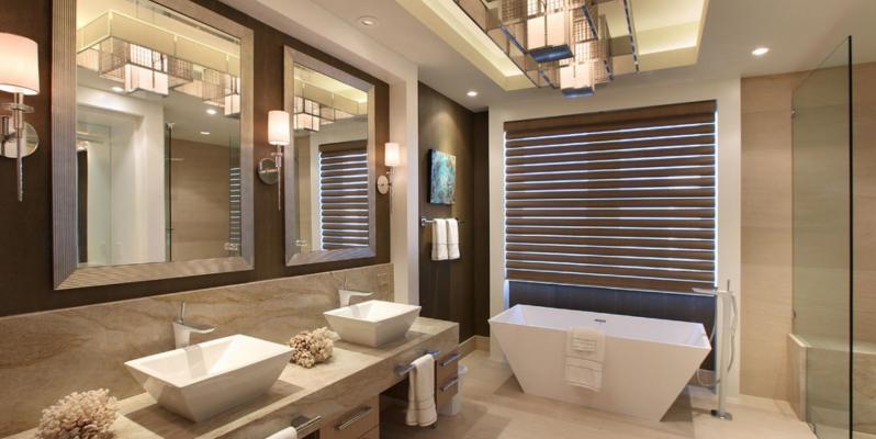 Современный дизайн ванной комнаты выбор стиля