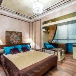 спальня с балконом фото дизайна