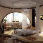 спальня с балконом фото интерьера