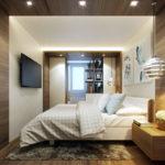 спальня с балконом оформление фото