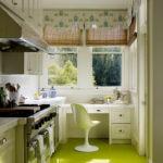 узкая кухня фото идеи