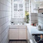 узкая кухня идеи интерьера