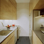 узкая кухня интерьер