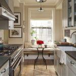 узкая кухня интерьер дизайн