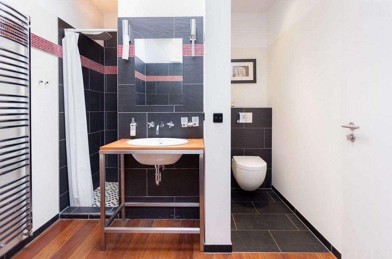 ванная с душевой кабиной дизайн идеи