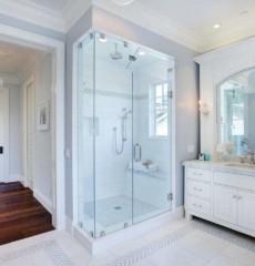 ванная с душевой кабиной фото