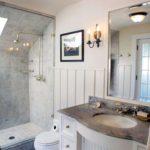 ванная с душевой кабиной оформление