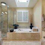 ванная с душевой кабиной дизайн фото