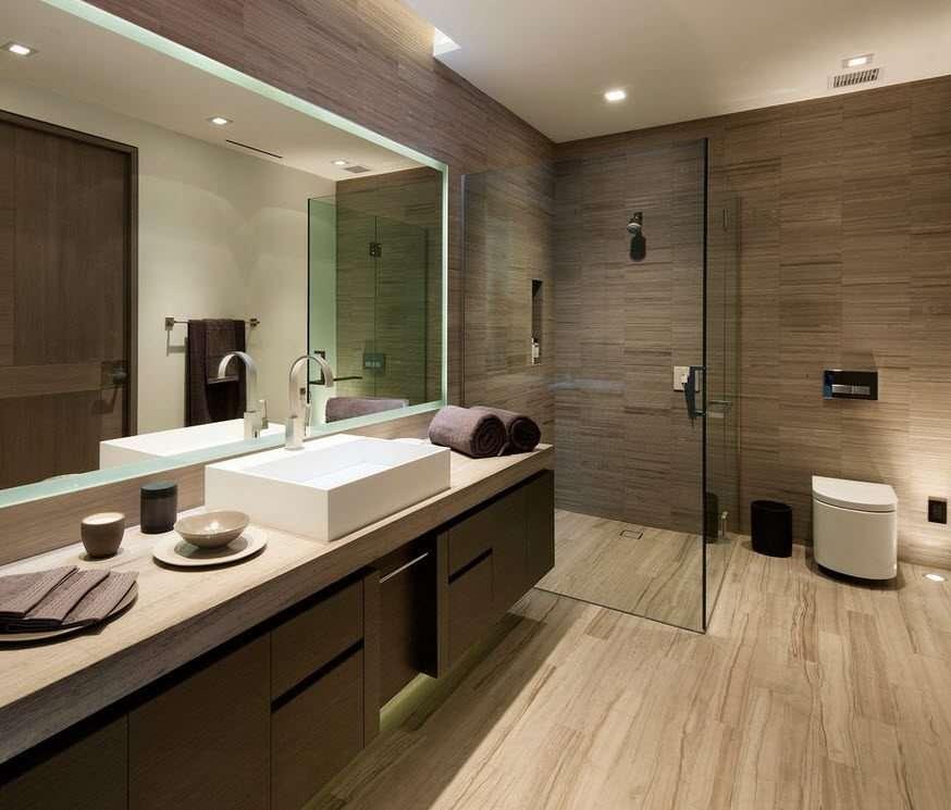 ванная с душевой кабиной фото дизайн