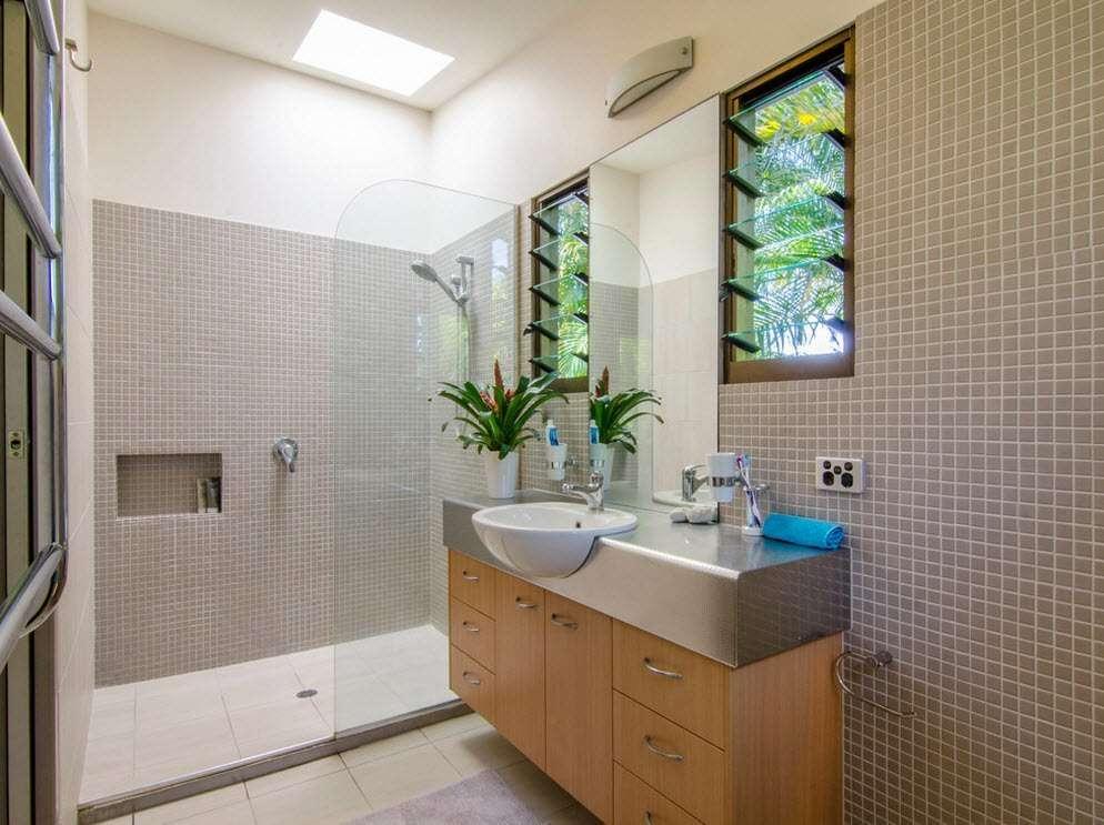 ванная с душевой кабиной фото идеи