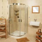 ванная с душевой кабиной идеи декор
