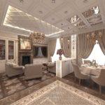 классический стиль элитный дизайн кухни