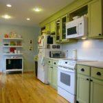 зеленая кухня фото дизайн