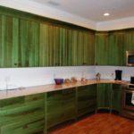 зеленая кухня идеи