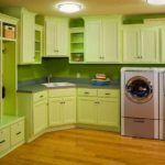 зеленая кухня интерьер фото