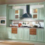 зеленая кухня интерьер идеи