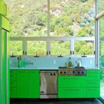 зеленая кухня варианты фото