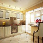 декор окна на кухне в стиле кантри
