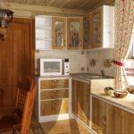 декор окна на кухне варианты фото