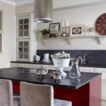 дизайн кухни гостиной 15 кв метров фото оформления