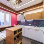 дизайн кухни гостиной 15 кв метров идеи фото