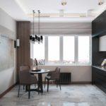 идея светлого декора кухни картинка