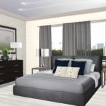 пример светлого интерьера спальной комнаты 15 кв.м фото