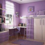 идея красивого стиля спальни для девочки картинка
