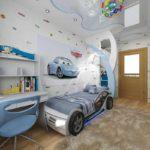пример красивого стиля детской комнаты картинка