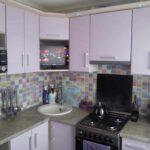 вариант необычного интерьера кухни фото