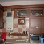 пример необычного стиля кухни с газовым котлом картинка