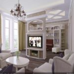 идея яркого дизайна прованс в гостиной комнате фото