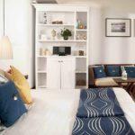 идея светлого стиля спальни картинка